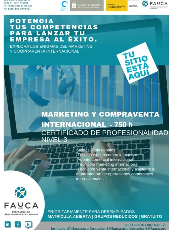 Cartel COMM0110 Marketing y Compraventa Internacional
